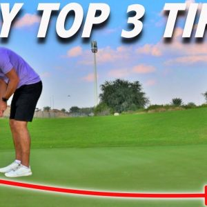 3 PUTTING TIPS TO LOWER SCORES | Simple Golf Tips