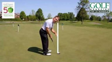 Putting Instruction- Should your eyes be over the ball at address???