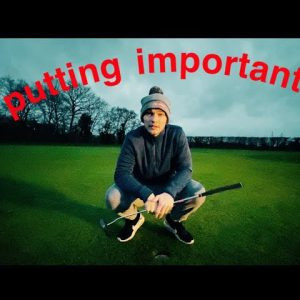 PUTTING IS IMPORTANT IN GOLF RIGHT..........