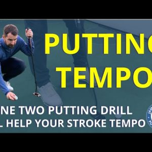 One Two Putting TEMPO DRILL - The most informative golf putting channel on YouTube