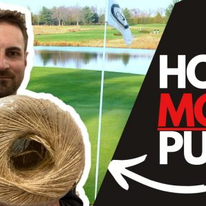 The ONE Indoor PUTTING drill ALL Beginners Must Do: Hole More Putts With The Putting String Line Aid