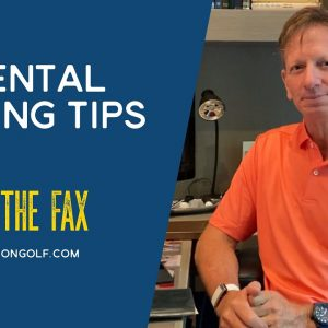 Brad Faxon: Mental Putting Tips