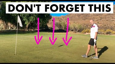 This SIMPLE PUTTING TIP will save you shots