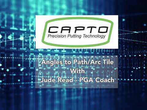 Capto Golf Angles to Path Arc