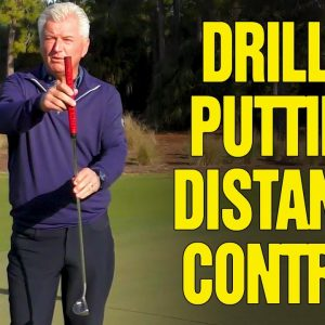 PUTTING DRILLS FOR DISTANCE CONTROL (NEVER 3-PUTT AGAIN)!!