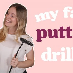 THE BEST AT-HOME PUTTING DRILL // GOLF 2021