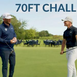 TOUR LEVEL PUTTING DRILL - 70FT Challenge