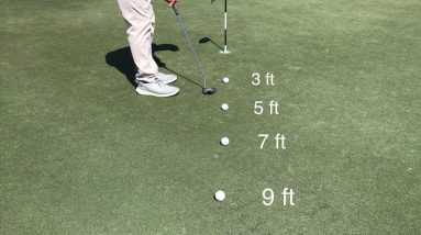 """""""Step Back"""" Putting Drill"""