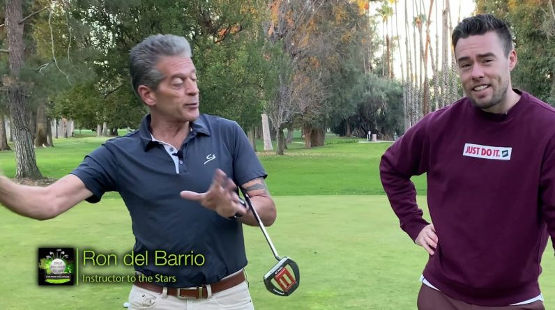 Talk Golfing to Me - Putting Lesson with Golf Legendary Instructor Ron del Barrio AKA RDB Golf Tips!