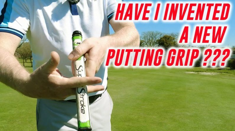 Golf Course Vlog 4 - Have I invented A New Putting Grip - Chipping Tip And The Next Competition