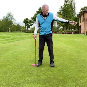 Golf rules on the putting green and surrounds