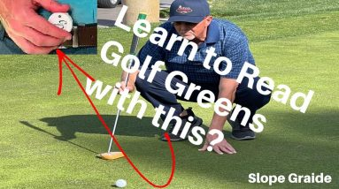 Learn To Read Greens Golf Green Reading Tool SlopeGraide