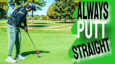 HOW TO PUTT STRAIGHT EVERY TIME! - Putting Tips for Golfers