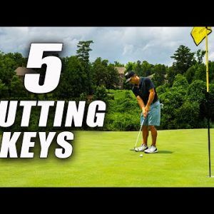 TOP 5 GOLF TIPS TO MAKE MORE PUTTS - STOP 3 PUTTING