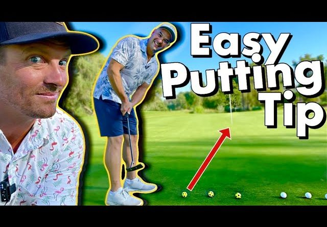 How to Fix a Common Putting Mistake // Pro Tip